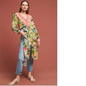 Anthropologie lucia tunic blouse new